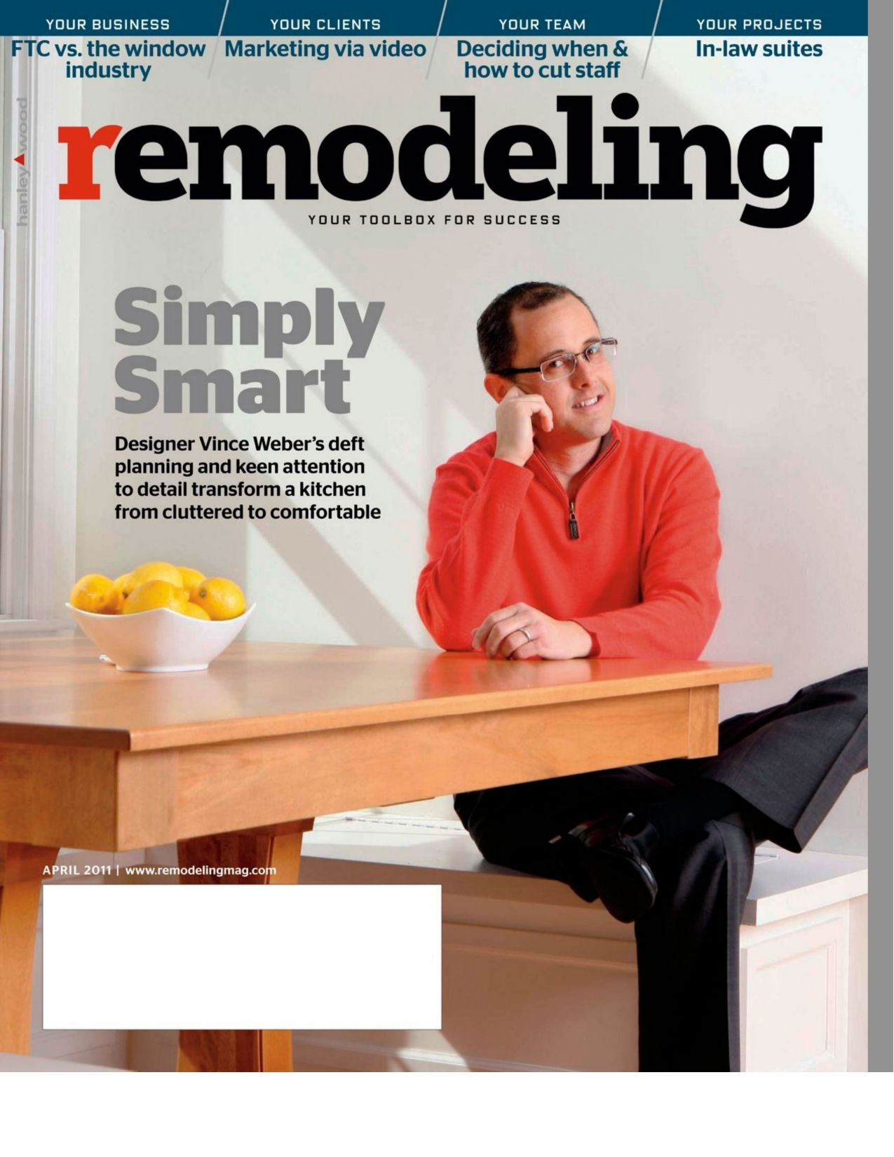 april 2011 remodeling magazine digital edition features simply smart kitchen remodel designs and details - Kitchen Remodeling Magazine